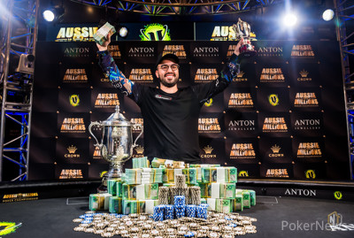2019 Aussie Millions Main Event Champion Bryn Kenney