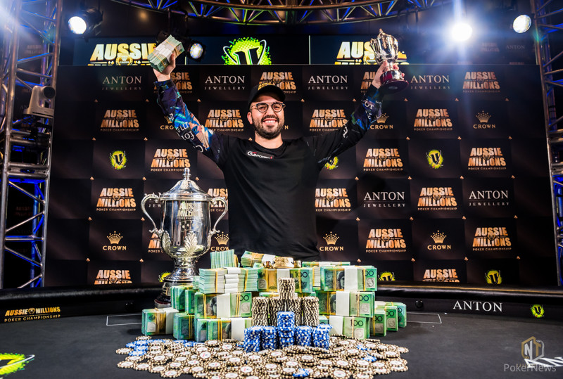 Bryn Kenney Wins 2019 Aussie Millions Main Event