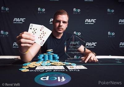 PAPC High Roller Winner Pauli Ayras