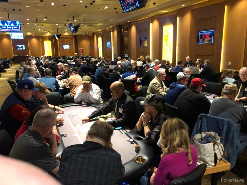 Welcome to Day 1b of the HPT Hollywood Columbus Main Event
