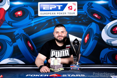Stefano Schiano - 2019 PokerStars and Monte-Carlo®Casino EPT€1,100 French National Championship Winner