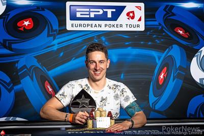 €5,200 PLO High Roller Champion Krzysztof Magott