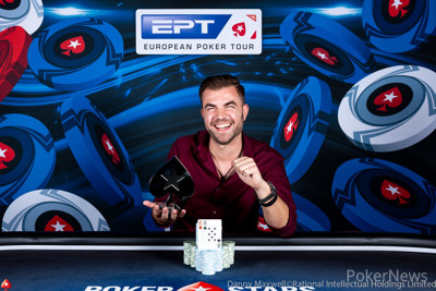 Georgios Kitsios - 2019 PokerStars and Monte-Carlo®Casino EPT€2,200 No-Limit Hold'em Deep Stack Winner