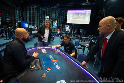Final Two Players in the €5,200 PLO High Roller