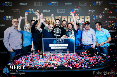 Andreas Christoforou Wins the 2019 Merit Poker Classic Main Event