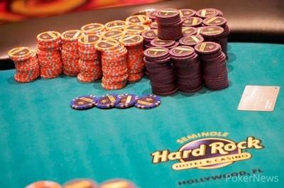 Seminole Hard Rock poker chips