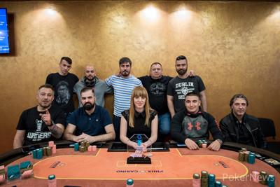 PokerNews Cup Kulata Main Event Final Table