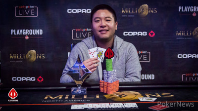 High Roller Champion Brian Yoon
