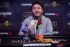 Brian Yoon Wins partypoker LIVE MILLIONS North America CA$10,300 High Roller for CA$300,000!