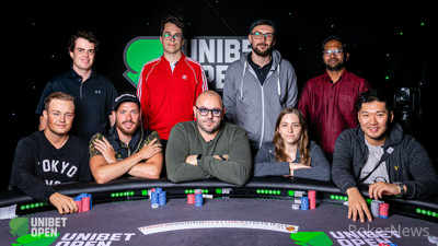 2019 Unibet Open London Final Table