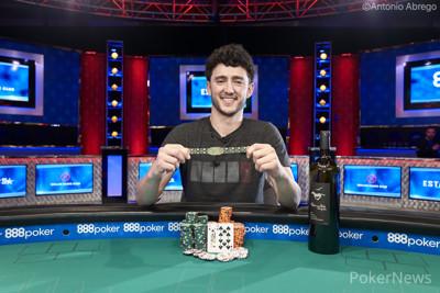 $10,000 Short Deck Champion Alex Epstein