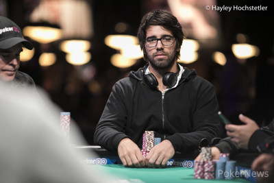 Manuel Ruivo is second in chips