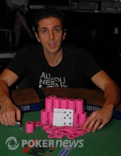 Rafi Amit, Winner $1000 Duece to Seven Lowball Triple Draw w/Rebuys Event #48
