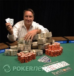 Bill Edler - 2007 WSOP Event #45 Champion