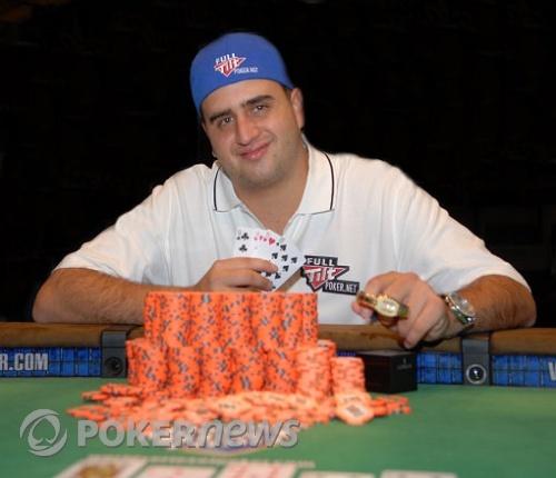 Robert Mizrachi, Winner WSOP $10,000 Pot Limit Omaha Event #50