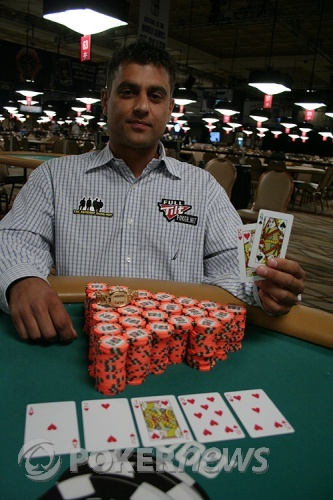 Ram Vaswani Wins Event #53 ($1,500 Limit Hold'em Shootout)