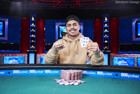 Kainalu McCue-Unciano Becomes the Latest Millionaire after Winning Event #50: Monster Stack - $1,500 No-Limit Hold'em