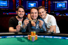 Israel's Team Geiger Wins Event #57: $1,000 Tag Team NLHE for Three First-Time Bracelets and $168,395