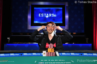 Sejin Park wins the 2019 COLOSSUS for $451,272