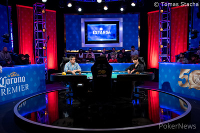 Georgios Kapalas and Sejin Park are heads-up
