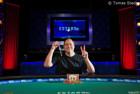 """David """"ODB"""" Baker Steamrolls $1,500 Limit Hold'em Event to Capture Second WSOP Gold Bracelet"""