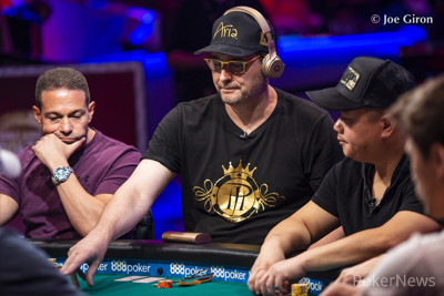 Phil Hellmuth will be back on Day 2