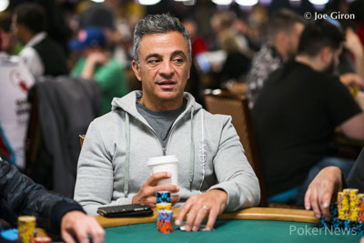 Joe Hachem (pictured in another event)