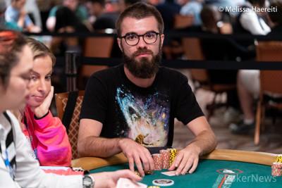 Alexandru Papazian at an earlier 2019 WSOP event