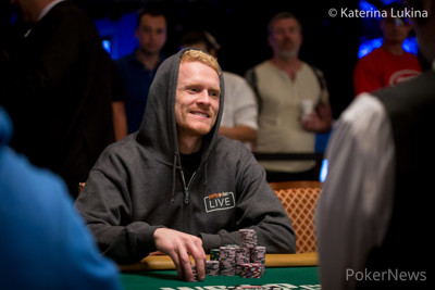 Preben Stokkan at the 2019 WSOP