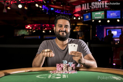 Shankar Pillai won nearly $1M in the 25K and advanced in the Main Event