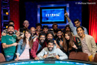 Abhinav Iyer Takes Down Event #84: The Closer - $1,500 No-Limit Hold'em to Win His First Bracelet