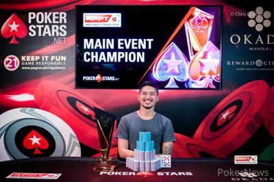2019 APPT Manila Main Event Champion Florencio Campomanes