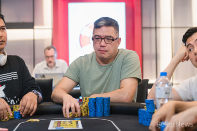 Chou Chien Fa holds the chip lead coming into the final day of the Poker King Cup Taiwan Main Event