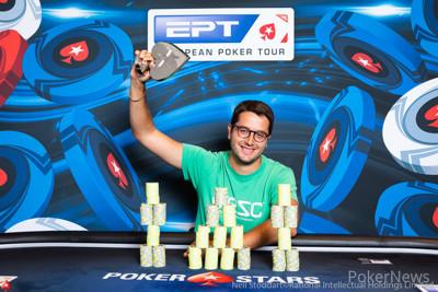 Juan Pardo wins th €25,000 Single-Day High Roller