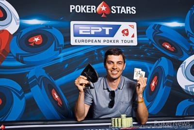 €25,000 6+ Hold'em High Roller Champion Mikhail Rudoy