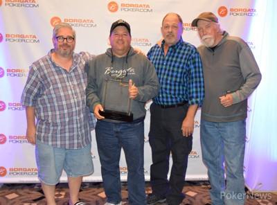 Ken Weinstein, Dave Hollenberg, Mark Smolley, and Henry Porcaro Chop