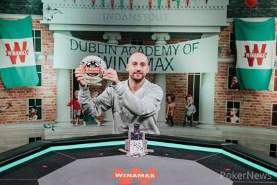 Winamax Poker Open Dublin Main Event Champion Philippe Guillou
