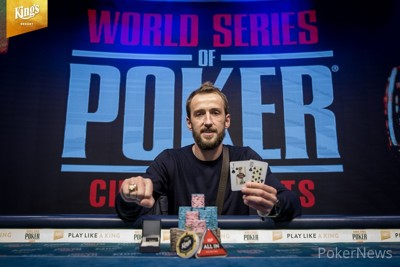 Jakub Oliva Wins the Main Event for €205,000