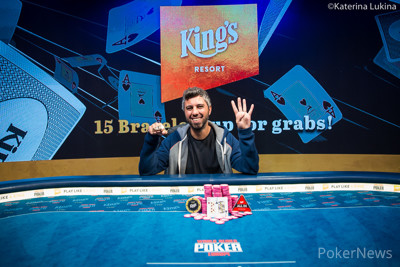 Asi Moshe Wins Event #9: €1,650 Pot-Limit Omaha/No-Limit Hold'em Mix