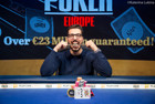 Tomas Ribeiro Wins Fifth Bracelet for Portugal in Event #11: €2,200 Pot-Limit Omaha for €128,314