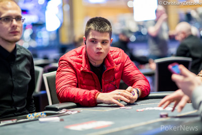 Arturs Scerbaks, 4th in Chips After Day 1