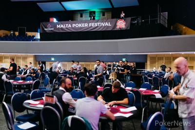 Tournament Room at the Portomaso Casino