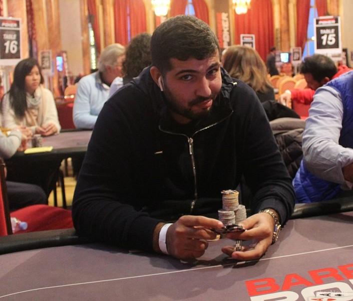 Plus de 800 joueurs sur le BPT Deauville 2019, Rayane Bouibeb chipleader du Jour 1c - Pokernews.com