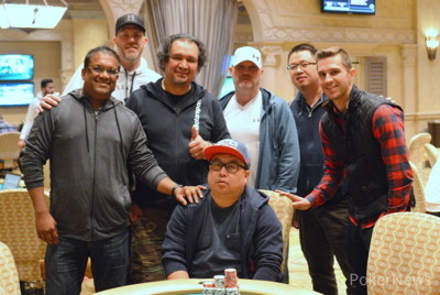 Victor Ramdin, Mike Linster, Jean Paul Norero, Joseph Malebranche, Bin Weng, Eric Hayes, & Soukha Kachittavong (seated)