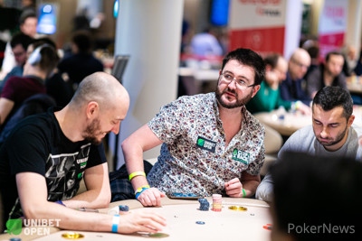 Unibet Poker Ambassador David Lappin bagged second in chips in Day 1c