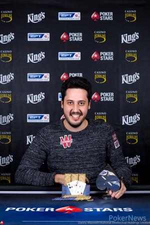Adrian Mateos - 2019 PokerStars EPT Prague €10,300 No-Limit Hold'em Winner