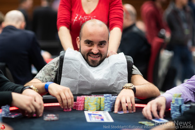 Bryn Kenney is third in chips after Day 2