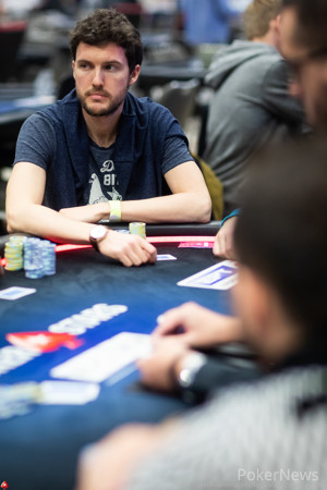 Thomas Boivin is third in chips heading into Day 2
