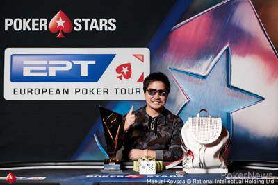Tsugunari Toma wins EPT Prague €10,300 High Roller