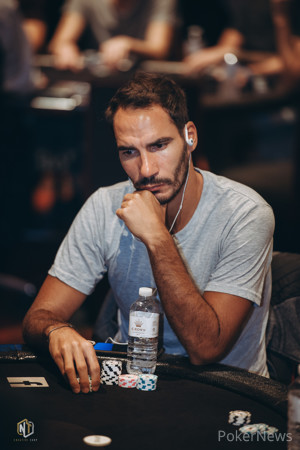 Julien Sitbon sits second in chips after Flight 1